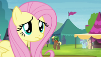 Fluttershy standing alone S4E22