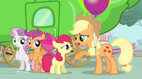 Sweetie Belle & Scootaloo standing S3E4