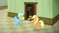 """Applejack """"you were supposed to stay there!"""" S6E23"""