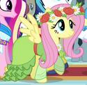 Fluttershy coronation dress ID S3E13