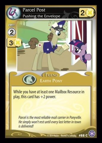 File:Parcel Post, Pushing the Envelope card MLP CCG.jpg