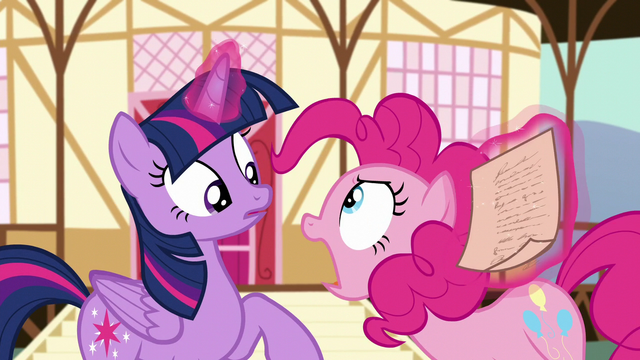 File:Pinkie Pie snapping at Twilight S5E19.png