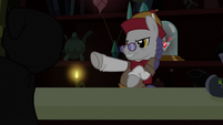 Shopkeeper defends the Alicorn amulet S3E05