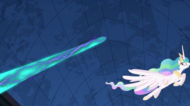 File:Princess Celestia dodging magic S4E02.png