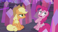 Pinkie calls AJ pushy, aggressive, and mean S5E20
