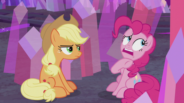 File:Pinkie calls AJ pushy, aggressive, and mean S5E20.png