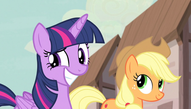 File:Applejack introduces Twilight Sparkle S5E1.png