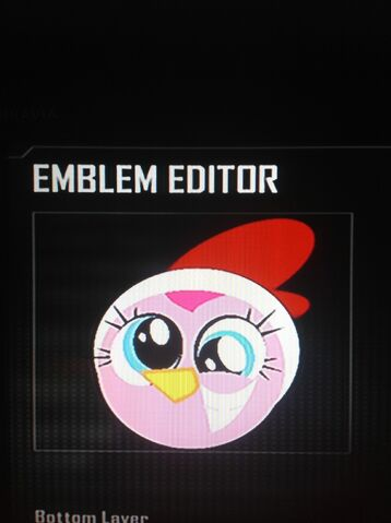 File:FANMADE Pinkie Pie Chicken Costume Black Ops 2 Emblem.jpg