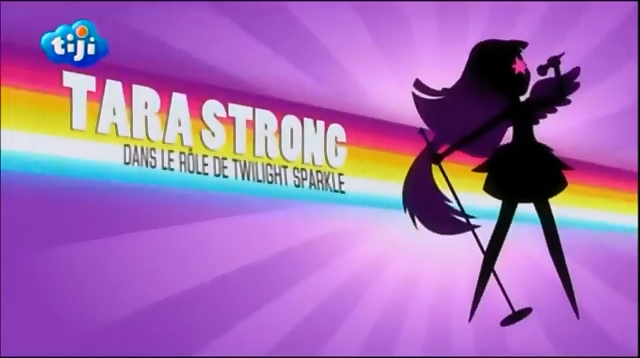 File:My Little Pony Equestria Girls Rainbow Rocks 'Tara Strong as Twilight Sparkle' Credit - French.png