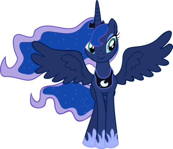 File:FANMADE Princess Luna transparent.png