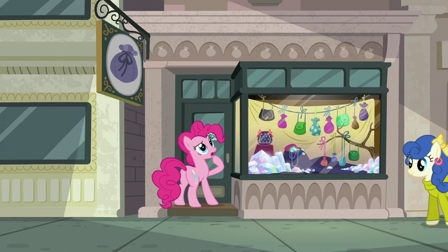 "File:Pinkie Pie ""must be stuck"" S6E3.png"