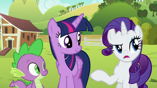 "File:Rarity ""if watching Applejack fix plumbing counts"" S6E10.png"