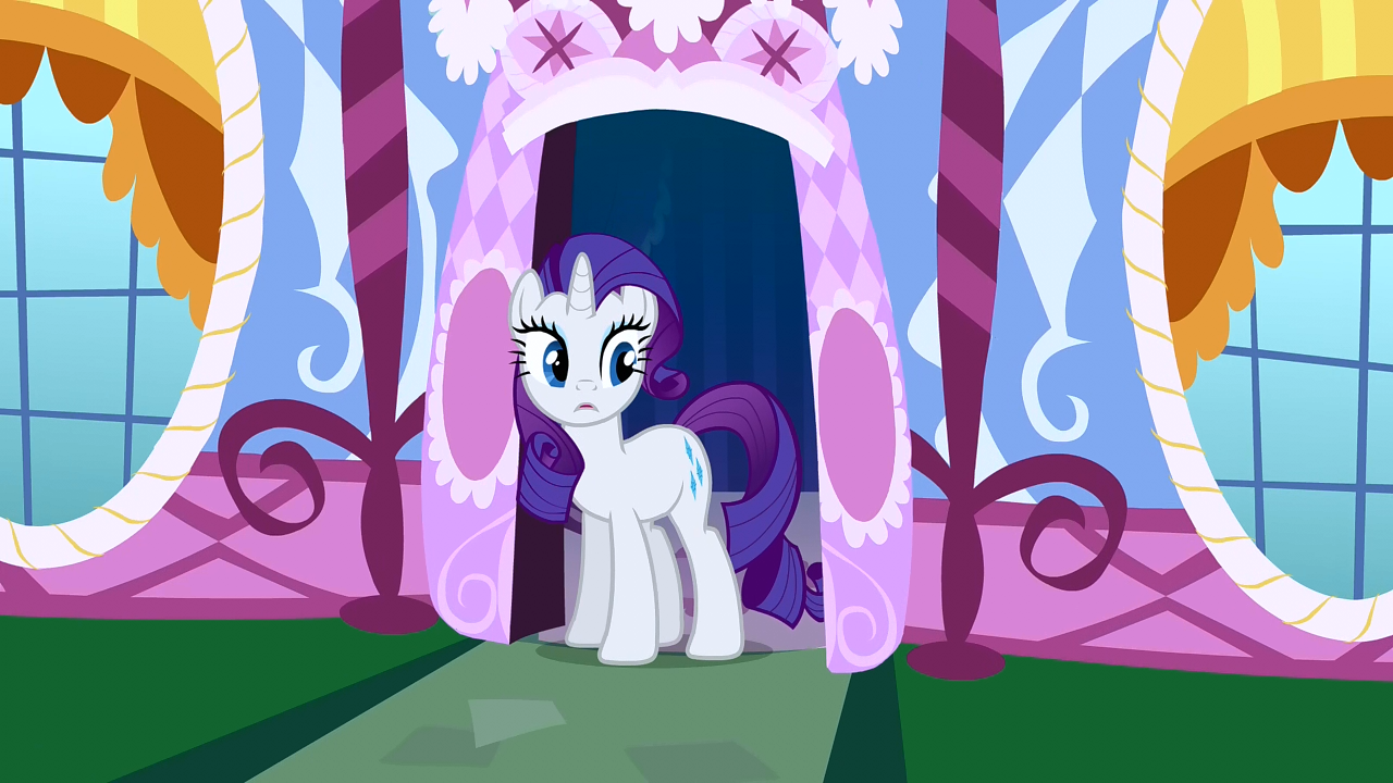 My little pony friendship is magic coloring pages best night ever - Rarity Shocked By Pinkie S Antics S1e26