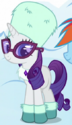 Rarity winter clothes ID S5E5