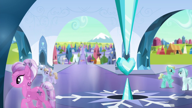File:Crystal Ponies in the palace square S4E25.png