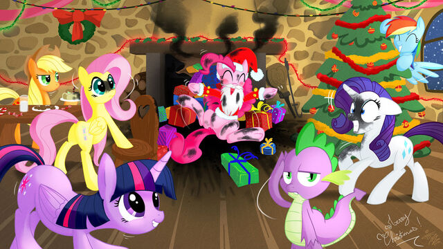 File:FANMADE Merry brony christmas by fidzfox.jpg