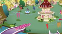 Pinkies swarming Ponyville S3E3