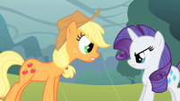 "Applejack ""does so infinity!"" S1E08"