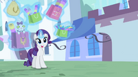 Rarity invited to VIP S2E9
