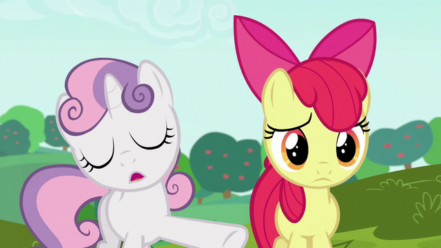 "File:Sweetie ""biggest, boldest cart anypony's ever seen"" S6E14.png"