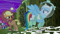 """Applejack """"try to keep up the illusion"""" S5E21"""