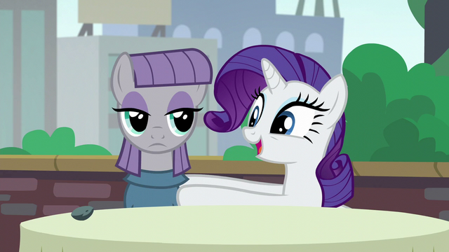 "File:Rarity ""how did the two of you first meet?"" S6E3.png"