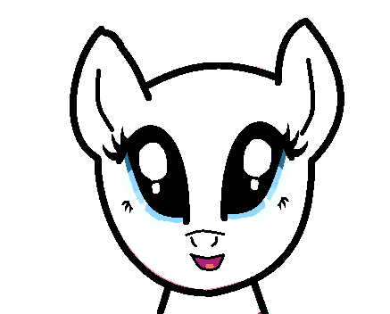 File:FANMADE Smiley Pony Base.png