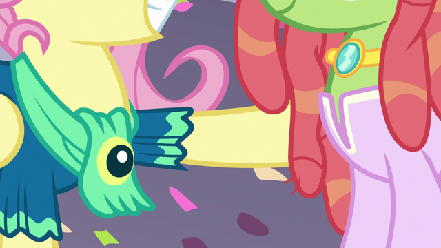 File:Fluttershy with a hoof on Tree Hugger S5E7.png