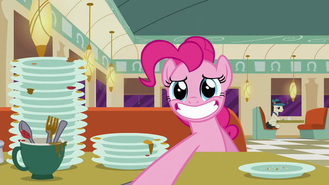 File:Pinkie Pie gives the check to Buried Lede S6E9.png
