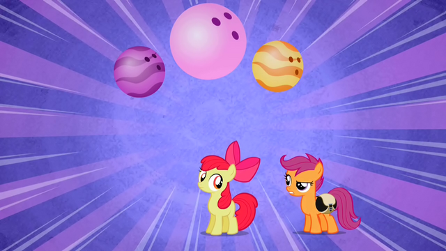 File:Scootaloo adding idea to Apple Bloom's name S2E6.png