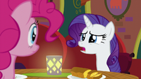 "Rarity ""not sure there's much you and I can do"" S6E12"