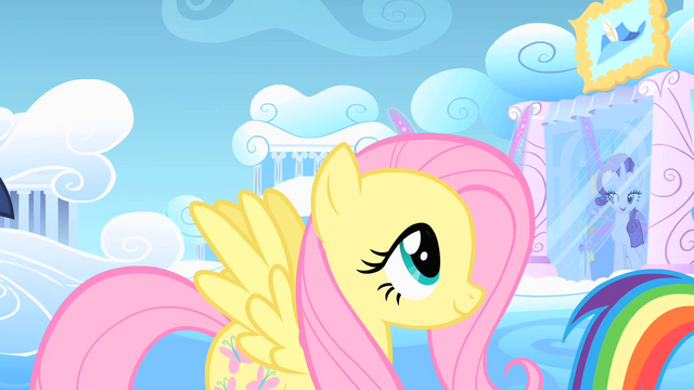 File:Fluttershy following Rainbow Dash S1E16.png