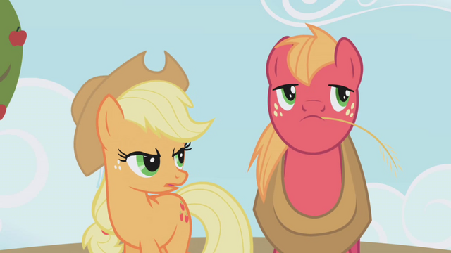 "File:Applejack ""are you saying"" S01E04.png"