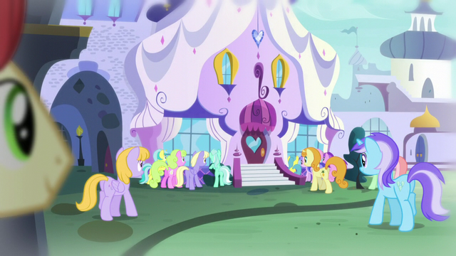 File:Crowd outside the Canterlot Carousel S5E14.png
