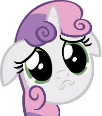 File:FANMADE Sweetie Belle Puppy dog face.jpg