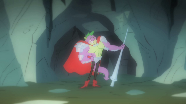 File:Manly Spike stood holding sword S1E19.png