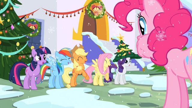 File:Ponies laughing S2E11.png