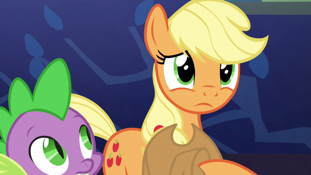 "File:Applejack ""what really makes home feel like home"" S5E3.png"