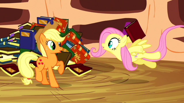 File:Fluttershy says No to the idea S3E05.png