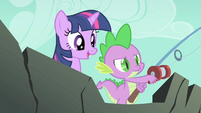 Spike deeply determined S1E19