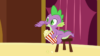 Spike with popcorn S3E03
