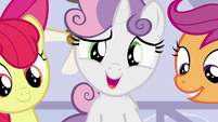 "Sweetie Belle ""and maybe even a little lost"" S6E4"