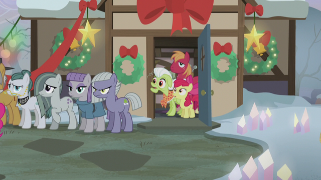 File:Granny, Big Mac, and Apple Bloom in shock S5E20.png