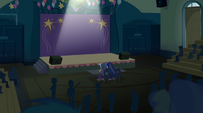 Stage before the Dazzlings' performance EG2
