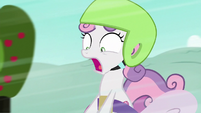 Sweetie Belle shrieking S6E14