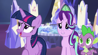 "Twilight Sparkle ""well, not exactly"" S6E24"