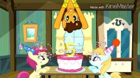 My Little Pony — The Super Duper Party Pony (Greek)