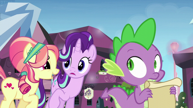 """File:Crystal Pony 1 """"Spike the Brave and Glorious"""" S6E1.png"""