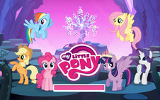 MLP Game Everfree Forest Update Loading Screen