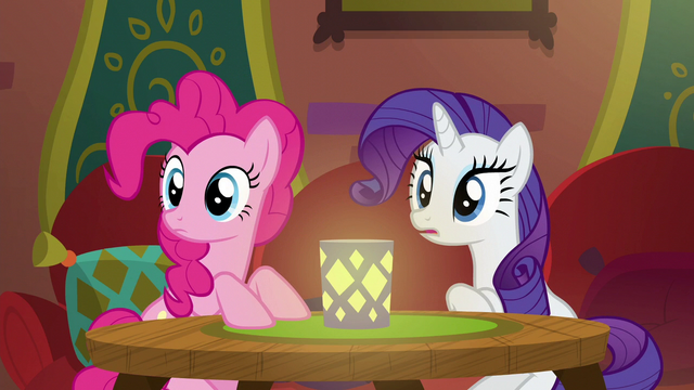 File:Pinkie and Rarity hear a clattering sound S6E12.png